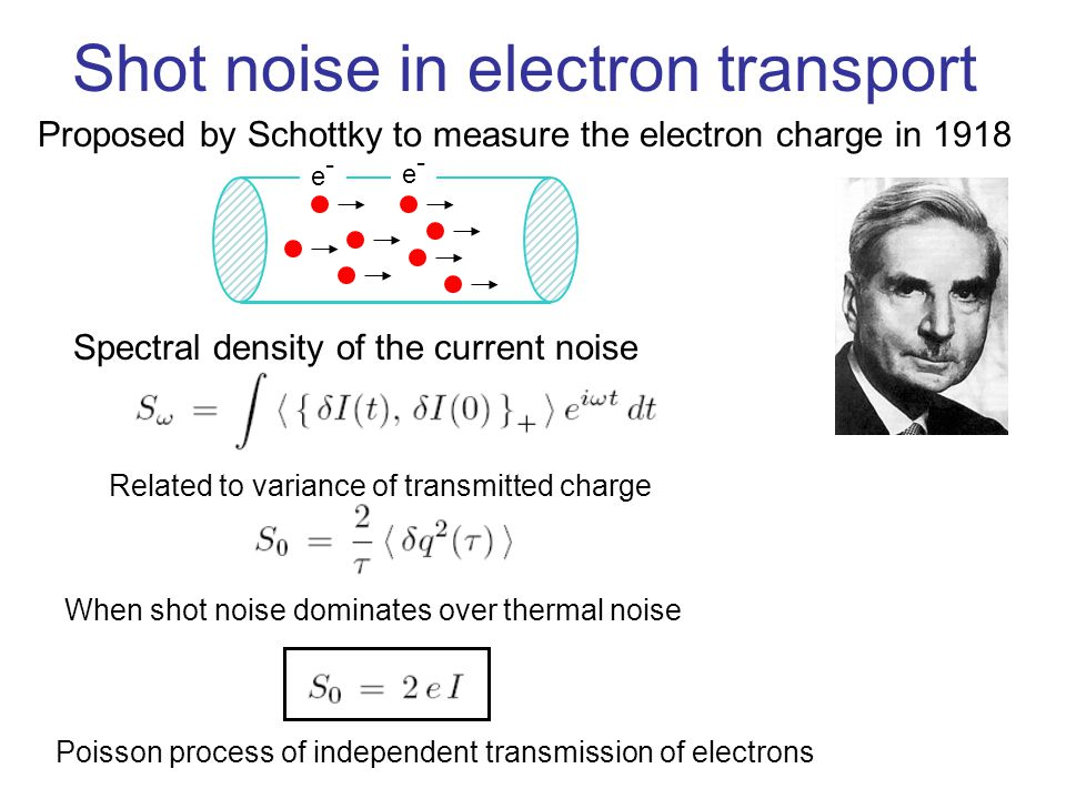 Shot Noise e Carica dell'Elettrone | PhysicsOpenLab