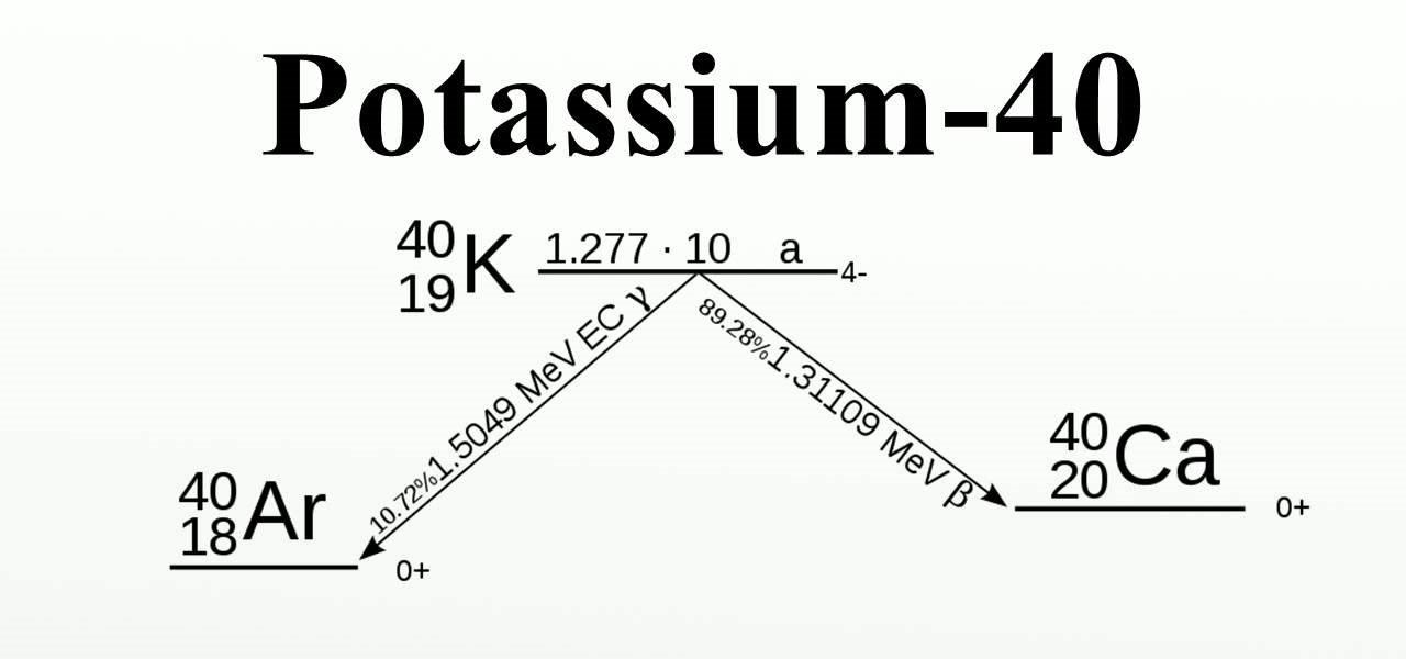 potassium is not radioactive