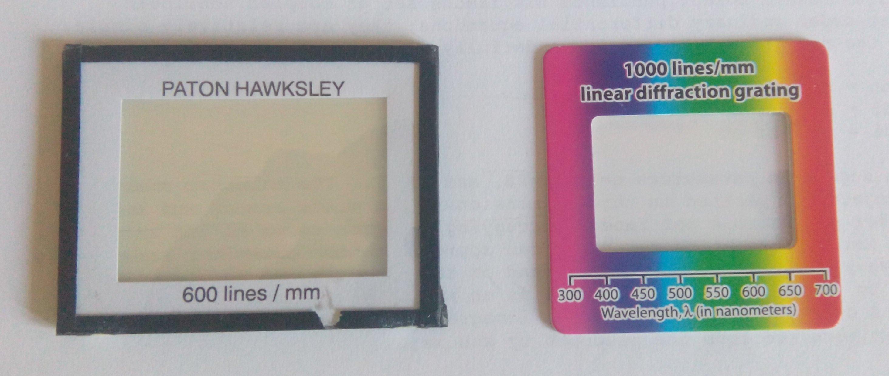 Diy Webcam Diffraction Grating Spectrometer Physicsopenlab