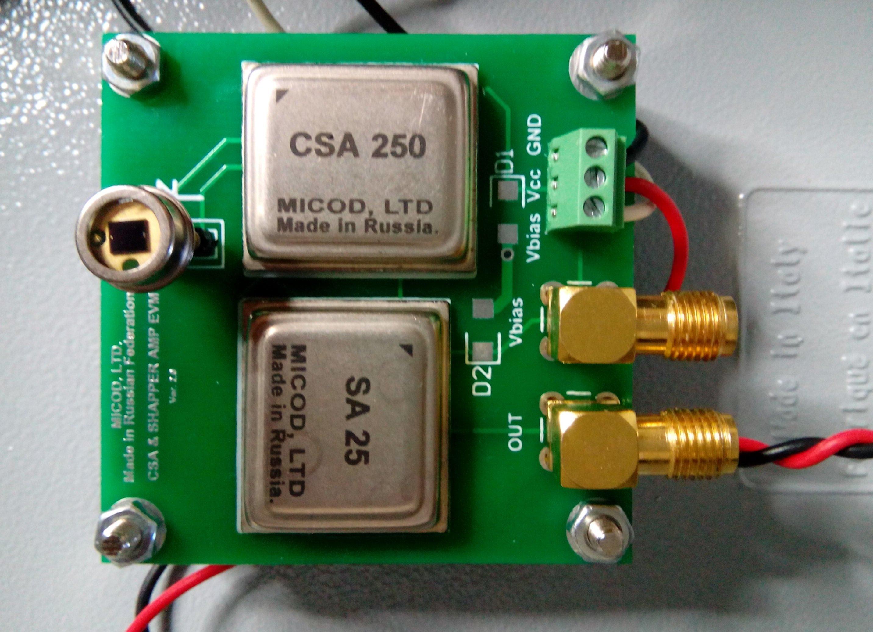 Si Pin Photodiode Plus With Csa Sa Physicsopenlab Americium Smoke Detector Circuit Board Micod
