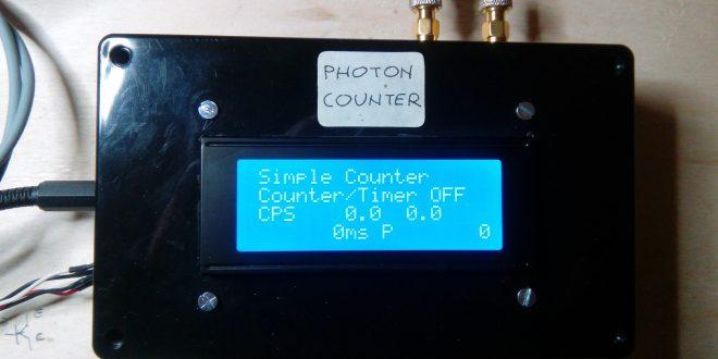 PSoC based Photon Counter   PhysicsOpenLab