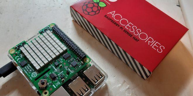 offiziel Sense HAT für Raspberry Pi gyroscope temparatur barometer sensoren led
